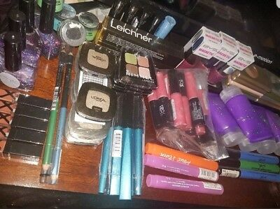 10x Makeup Bundle MAYBELLINE, L'OREAL, RIMMEL, MAX FACTOR, WET&WILD & many more