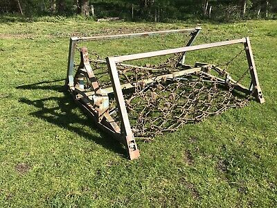12ft Folding Chain Harrows / Grass Harrows / Tractor