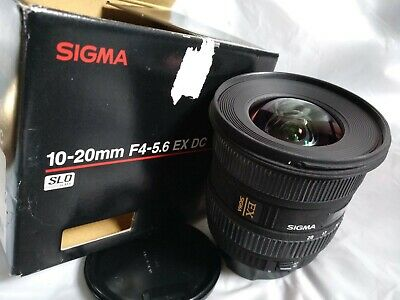 Sigma 10-20mm f4-5.6 DC HSM Wide Angle Lens Canon fit excellent