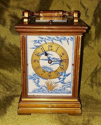 ANTIQUE CARRIAGE CLOCK (in need of restoration)
