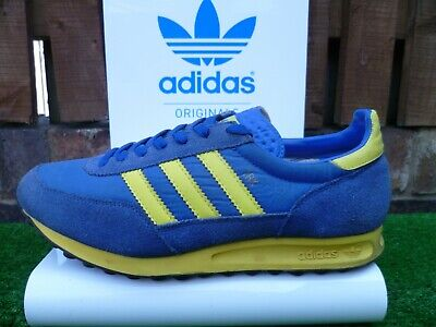 new product 6c1b5 f2aab VINTAGE ADIDAS TRX 80s casuals 1998 OG COLOURWAY UK 9 MCVICAR VERY RARE LOOK