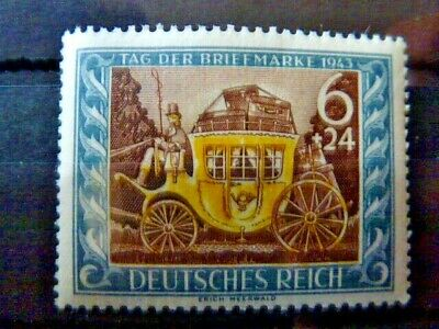 Germany Hitler Third Reich 1943 Day of the Stamp  MNH