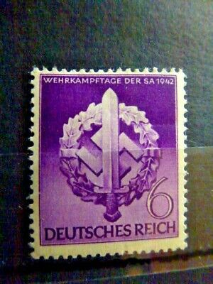 Germany Hitler Third Reich 1942 Hero Memorial Day MNH