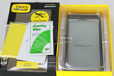 Apple iPhone X AND NEW XS Otterbox Alpha Tempered Glass Screen Protector OEM
