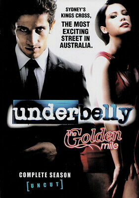 UNDERBELLY: THE GOLDEN Mile NEW PAL Cult 4-DVD Set - $93 99 | PicClick