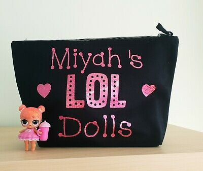 LOL Surprise Dolls Bag Personalised Toy Storage for dolls, pets & hairgoals