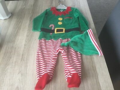 Next Baby Boys Xmas Outfit 3-6 Months Bnwt