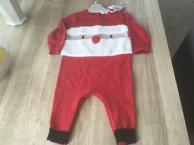 Next Baby Boys Xmas Outfit 6-9 Months Bnwt