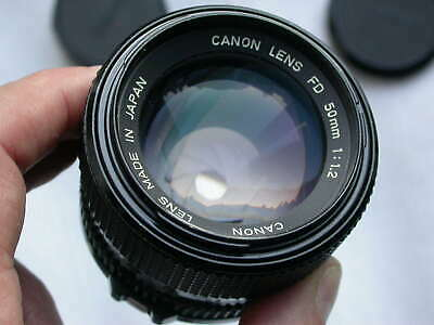 CANON FD 50mm 1:1.2 - full-frame 24x36 - excellent condition