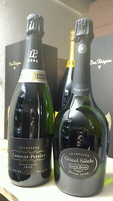 Champagne Laurent Perrier, 1x04 Vintage e 1x Grand Siecle