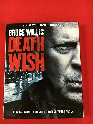 Death Wish (Blu-ray Disc  2018) ONLY BLU-RAY