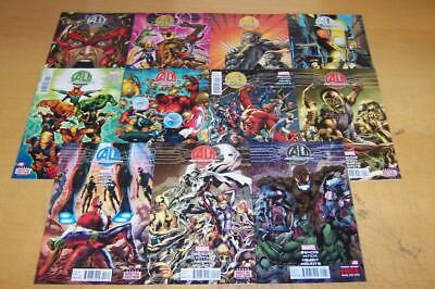Marvel Comics Age Of Ultron 1-10+ Full Set Bendis 2013