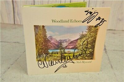 Nick Heyward Woodland Echoes Signed CD Album 2017 Popular Music Haircut 100