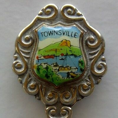 Townsville Qld Souvenir Spoon Teaspoon (T159)