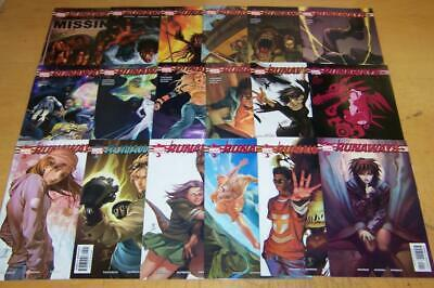 MARVEL COMICS RUNAWAYS VOL 1 1-18 FULL SET 1st APP  VAUGHAN 2003/04
