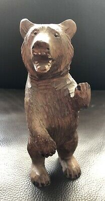 Antique Black Forest Carved Bear