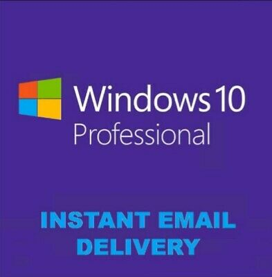 Windows 10 Pro 32-64 Bit Win 10 Oem Genuine License Original Activation Key