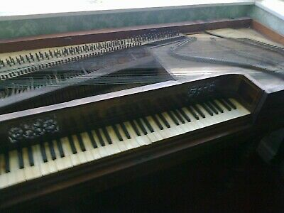 Vintage Square Piano For Restoration.