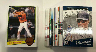 2017 Donruss Baseball Lot Of 105 Inserts Rcs And Parallels Bryant Yelich Betts +