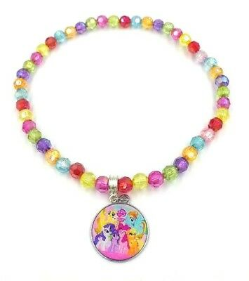 Girls My Little Pony Inspired 14 Inch Necklace