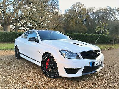2014 Mercedes-Benz C63 Edition 507 Amg 6.3 V8 507Ps Mct Fsh 2 Owners 1 Of 175