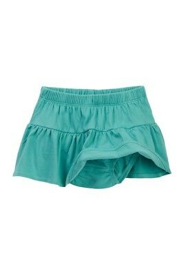 Tea Collection Girl's Skirt Bottoms Green Blue Ruffled Baby Bloomers 18-24M