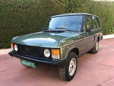 1986 Land Rover Range Rover Classic 2 Door 1986 RANGE ROVER CLASSIC 2 DOOR 3.5 V8 AUTOMATIC - LHD - IN SPAIN - VERY RARE!