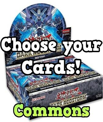 YuGiOh! - Dark Neostorm - DANE - Common cards! Single or Playsets (1 or 3) *NEW*