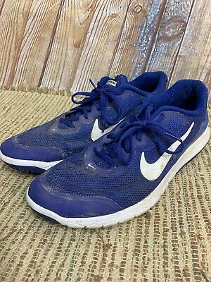 5751519d633 Nike Flex Experience RN 4 Blue and White 749172-400 Running Shoe Men s Size  14