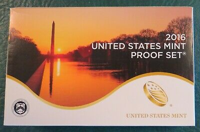 2016-S US Mint Proof 13 Coin Set!  Includes Park Quarters & Presidental Dollars!
