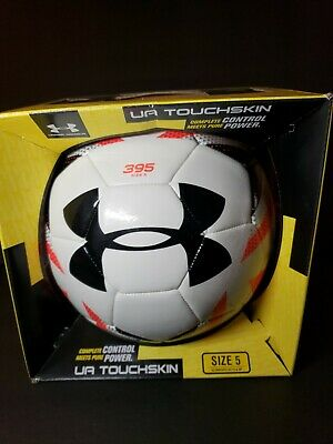 4c6de0cdde8f4 Under Armour DESAFIO Official Match Soccer Ball Size 5 FIFA NIB Red White  Black