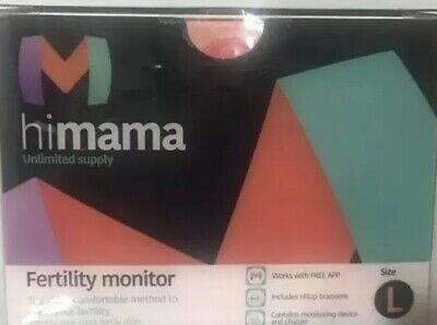 Himama Fertility Monitor Hi mama Ovulation Tracker Coffee Color Size Large New