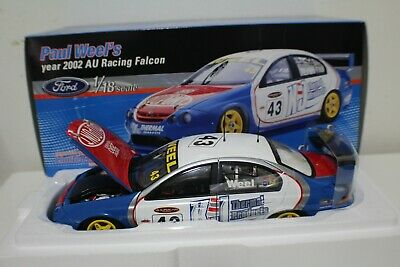 2002 Paul Weel Ford AU Racing Falcon #43 Classic 1:18 Item #18043.