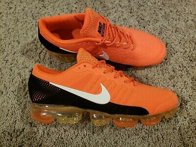 2018 MEN'S NIKE AIR VAPORMAX FLYKNIT/ Size 12/ Black and Orange