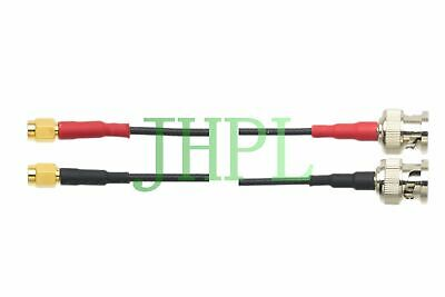 Cable Dual MD Microdot to BNC Equivalent For Ultrasonic NDT TOFD GE TR transduce