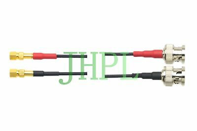Cable Dual Subvis to 2x BNC Equivalent For Ultrasonic NDT TOFD GE TR transducers