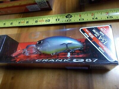 Duo Realis Crank G87 15A Crank Bait Floating Lure Chartreuse Blues