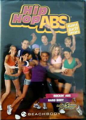 New Shrinkwrapped Hip Hop Abs Dance Party Series Dvd Rockin Abs & Hard Body