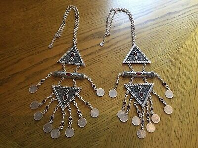 Antique Islamic Ottoman Turkish Pair Of Chains