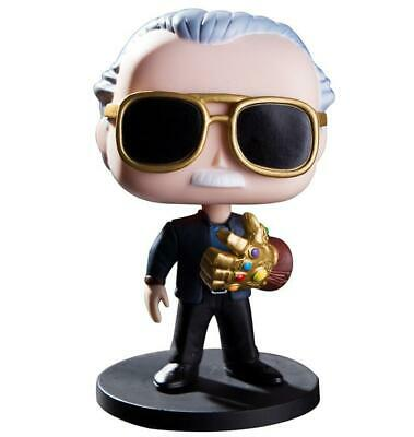 New Marvel Avengers Endgame Stan Lee With Infinity Gauntlet PVC Action Figure