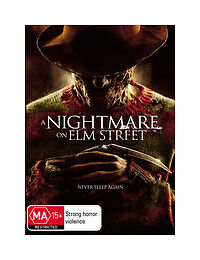 A Nightmare On Elm Street (DVD, 2010)  Region 4 (VG Condition)
