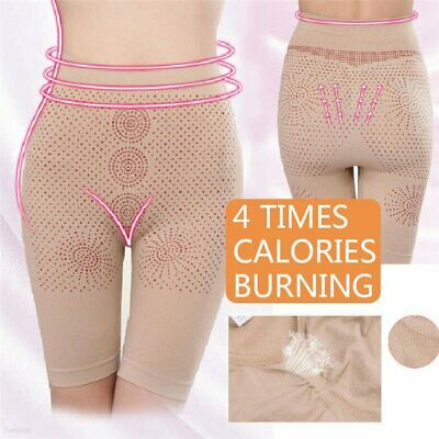 Calories Burning Underwear Slimming Body Shaper Control Tummy High Waist Panty#N