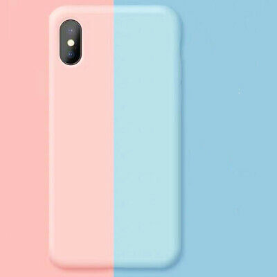 Liquid Silicone Case for iPhone Xs Max XR Ultra Thin Matt Protective Cover Shell