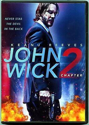 John Wick: Chapter 2 (DVD, 2017)  Keanu Reeves, Common, Laurence Fishburne