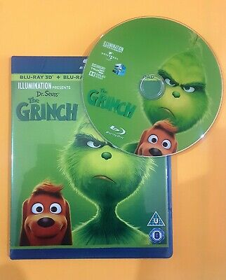 THE GRINCH 3D Blu-ray **region free**