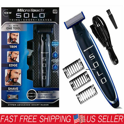 SOLO Smart Rechargeable Men's Shaver Rechargeable Shaver Trimmer