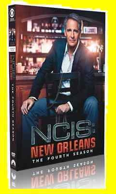 New & Sealed NCIS New Orleans: Complete Fourth Season 4 NEW ( DVD, 5-Disc Set)