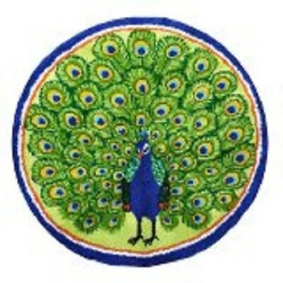 "Latch Hook Kit""Peacock"" 82cm Circular"