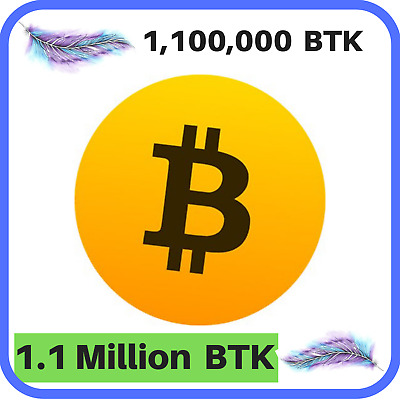 1,100,000 Bitcoin-Turbo-Koin (BTK) MINING-CONTRACT, 1.1 Million, Crypto Currency
