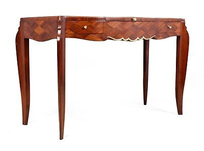 Art Deco Parquetry Dressing Table by Jules Leleu c1950